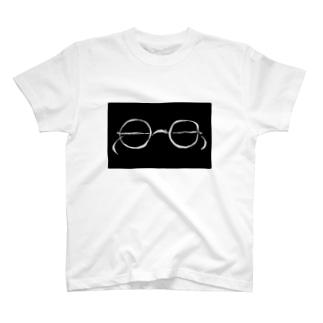 glasses Tシャツ