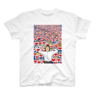 ハートノウミニダ Tシャツ