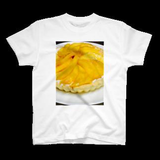 マンゴータルト(ヨーグルトクリーム) Tシャツ