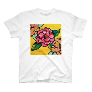 つばき Tシャツ