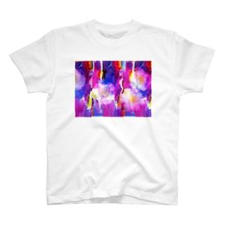 さざんかろまんす(L) Tシャツ