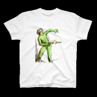 かっぱえび線 Tシャツ