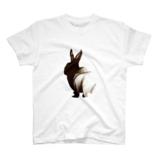 うさぎへあー Tシャツ