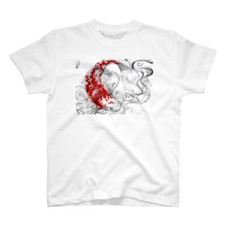 炎鯉(Homura-Goi) Tシャツ