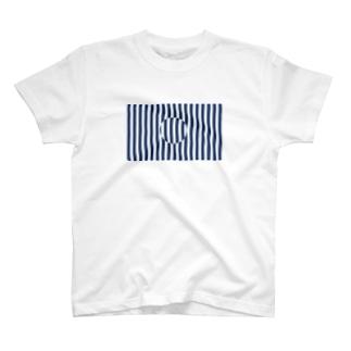 ストライプの中のストライプ Tシャツ