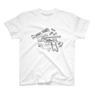 control:beretta Tシャツ