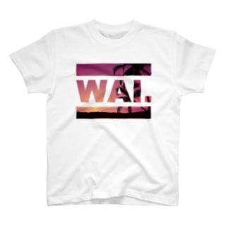 WAIT (ハワイアン) Tシャツ