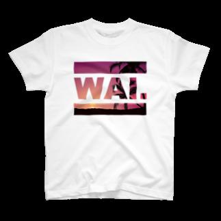 ワイのWAIT (ハワイアン) Tシャツ