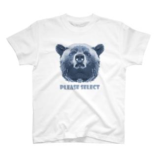 Please select bear Tシャツ