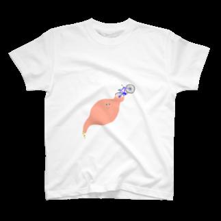 molの自転車消化 Tシャツ