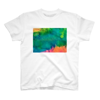 particle particle Tシャツ