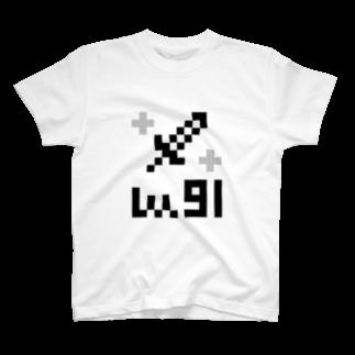 Lv.91(ソード) Tシャツ