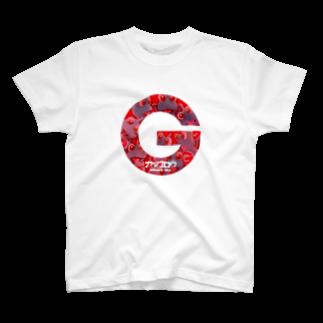 有明ガタァ商会の魂のGマークTシャツ