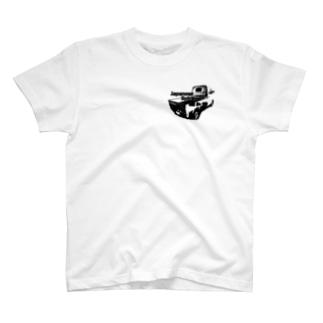 日本の魂 軽トラ! Tシャツ