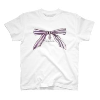 宝石と蝶結び Tシャツ