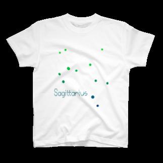 Sagittarius -12 ecliptical constellations- Tシャツ