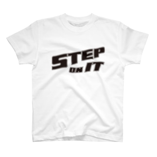 STEP ON IT Tシャツ