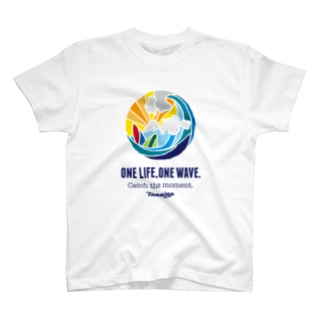 One life, One wave.(カラー) Tシャツ