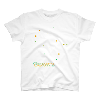 neoacoのGemini -12 ecliptical constellations-Tシャツ
