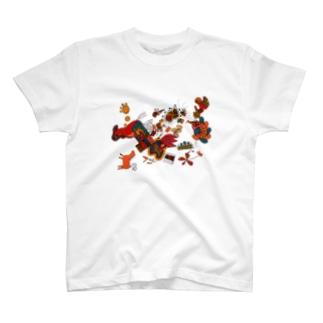 Horse3 Tシャツ