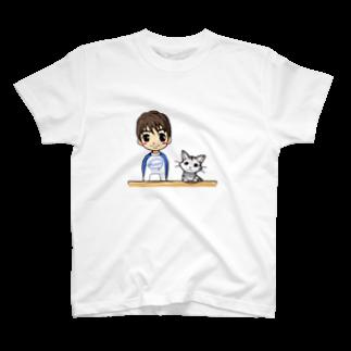 キューティ★ポップのまーちゃんとユキの仲良しグッズ★Tシャツ
