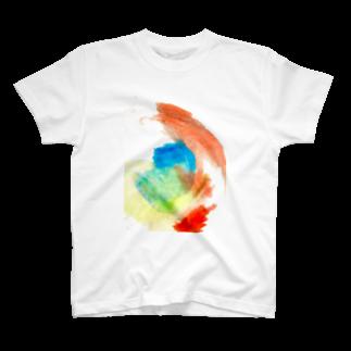 cion art shopのあかちゃんのおみせTシャツ