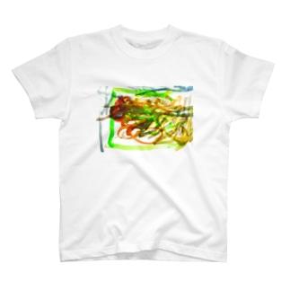 かぜ Tシャツ