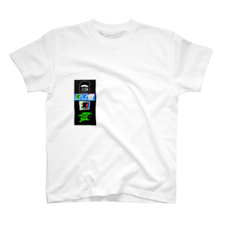 TKCH ONLINE STORAGE B1のID STICKER T-Shirt Green Tシャツ