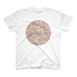 gold moon Tシャツ