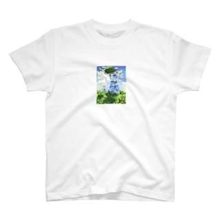 モネのモシャ Tシャツ
