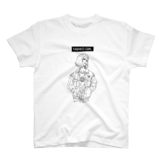 TABAKO GIRL Tシャツ