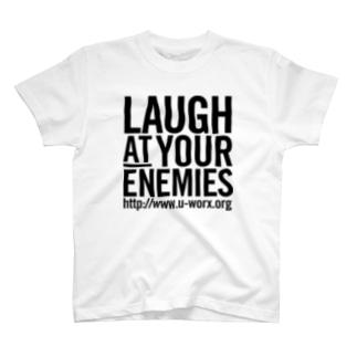 LAUGH AT YOUR ENEMIES Tシャツ