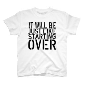 STARTING OVER 2 Tシャツ