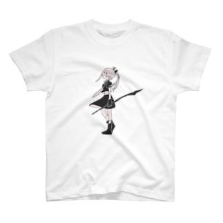 無気力少女3 Tシャツ