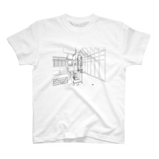 路地 Tシャツ