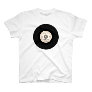 レコード Tシャツ
