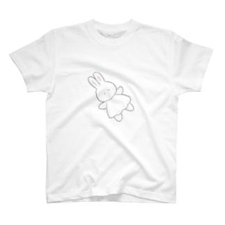 ふんわりうさちゃんのTシャツ Tシャツ
