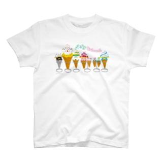 バブールソフトクリーム2 Tシャツ