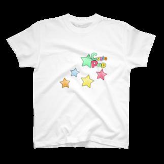 キューティ★ポップのキューティ★ポップ キラキラバージョンTシャツ