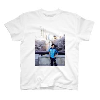 背骨トレーナー Tシャツ