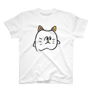 歯の猫 Tシャツ