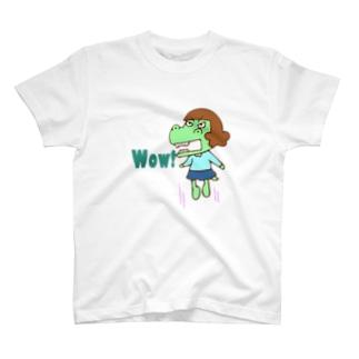 Wowガウ子 Tシャツ