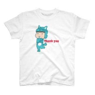 ありがとうむっちゃん Tシャツ