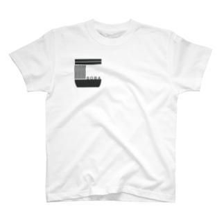 soba-logo KURO Tシャツ