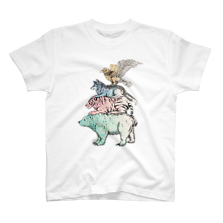 Acabane* Shopの猛獣ブレーメン(color)Tシャツ