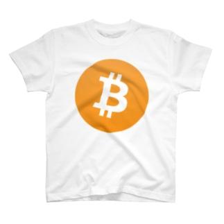 bitcoin ビットコイン マーク 各色 Tシャツ