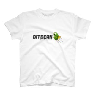 bitbean ビットビーン 横 各色 Tシャツ