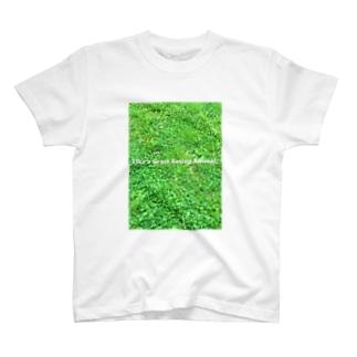 草食動物 Tシャツ