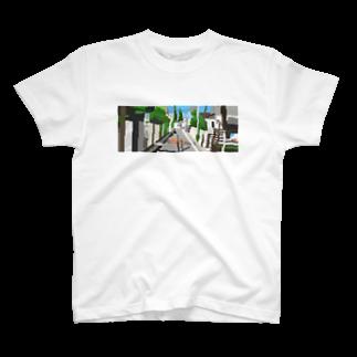 33888.の道Tシャツ