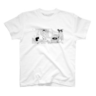 蓄音機の調べ Tシャツ